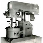 That's how we started - the first machine for the production of sealing